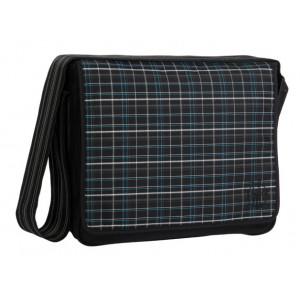 Lassig τσάντα αλλαγής Check black (LMB1010126) Δωρεάν αποστολή με αντικαταβολή με courier.
