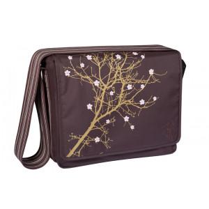 Lassig τσάντα αλλαγής Blossom choco (LMB106066) Δωρεάν αποστολή με αντικαταβολή με courier