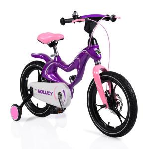 "Moni Παιδικό ποδηλατάκι 16"" με Δισκόφρενα Magnesium (Purple) (737.353.012)"
