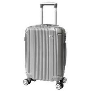 Βαλίτσες ταξιδιού rain RB9028C silver narlis.gr