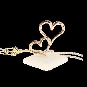 Μπομπονιέρα Γάμου Σφυρήλατες Καρδιές σε Πέτρα  61208-185 Andronidis Ζητήστε προσφορά !!!!