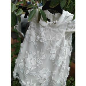 Ολοκληρωμένο πακέτο βάπτισηs με αυτό το Φόρεμα Versace (50042)  ) Προσφορά Με βαλίτσα rain η θρανίο παγκάκι!!!!