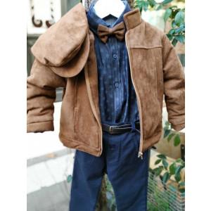 Ολοκληρωμένο πακέτο βάπτισηs με αυτό το κουστούμι (La christine Κωδ.Α-2010-120) Προσφορά Με βαλίτσα rain η θρανίο παγκάκι!!!!