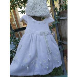 Ολοκληρωμένο πακέτο βάπτισηs με αυτό το Φόρεμα (Marasil 196-109) Με βαλίτσα rain η παγκάκι θρανίο προσφορά!!!!!!!