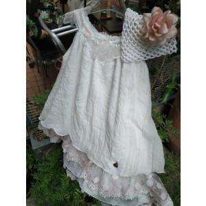 Ολοκληρωμένο πακέτο βάπτισηs με αυτό το Φόρεμα (Guy Laroche Κωδ.16140B) Με βαλίτσα rain ή παγκάκι θρανίο!!