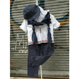 Ολοκληρωμένο πακέτο βάπτισηs με αυτό το κουστούμι (Piccolo Bambino Κωδ.139-155)  Με βαλίτσα rain η παγκάκι θρανίο!!!