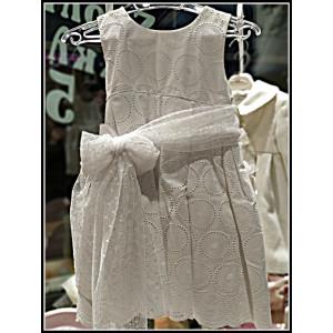 Ολοκληρωμένο πακέτο βάπτισηs με αυτό το φόρεμα (La christine Κωδ.Κ-18-354-120) Με βαλίτσα rain η παγκάκι θρανίο !!!