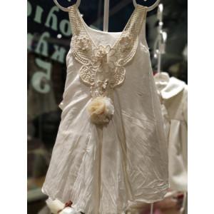 Ολοκληρωμένο πακέτο βάπτισηs με αυτό το Φόρεμα (Neonato Κωδ.4941-145-255) Με βαλίτσα rain η παγκάκι θρανίο προσφορά!!!!!!!