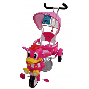 Ποδηλατάκι Παπάκι (Ροζ) (#507.153.025#)
