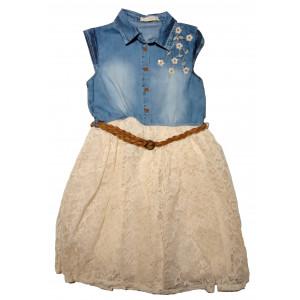 Φόρεμα Τζιν Παιδικό Trax 9905