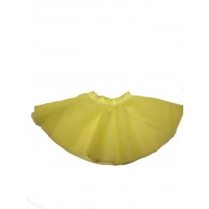 Φούστα Μπαλέτου Τούλινη (Κίτρινο) (Κωδ.437.01.002)