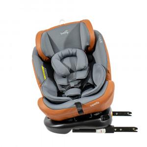 Just Baby Κάθισμα Aυτοκινήτου 0-36kg Super Fix Grey (507.076.009)