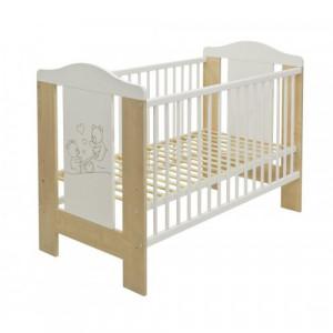 Just Baby Βρεφικό Κρεβάτι Lydia Bear Φυσικό 2110B, narlis.gr