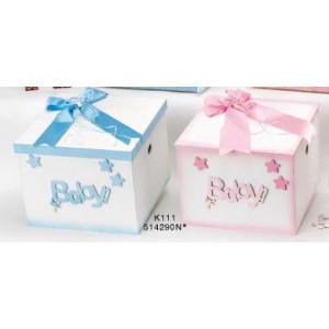 Κουτί ξύλινο Baby Κωδ.Κ111