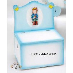 Παγκάκι ξύλινο με πριγκιπάκι Κωδ.Κ363