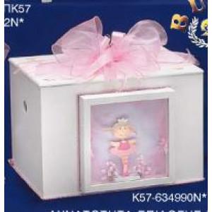 Κουτί ξύλινο πριγκίπισσα Κωδ.Κ57