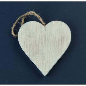 Μπομπονιέρες Γάμου Βάπτισης Ξύλινη Καρδιά ZL16C1097 Nuova Vita