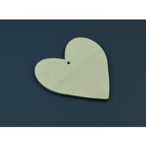 Μπομπονιέρες Βάπτισης Ξύλινη Καρδιά ΝΚ046 Nuova Vita