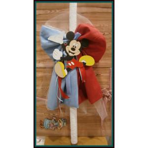 Λαμπάδα γάζα Mickey  (Α10010)
