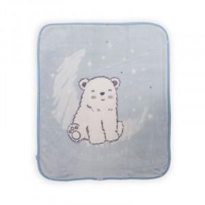 Κουβέρτα/Υπνόσακος Polar Bear Blue