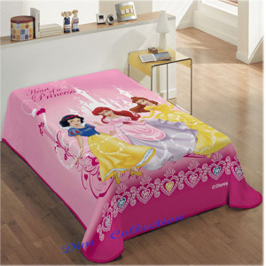 Κουβέρτα Princess Disney (Κωδ.621.538.002) (Με δωροεπιταγή 10,40 €)