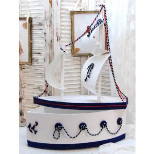 Ξύλινο Καράβι ΚΑ00026 narlis.gr
