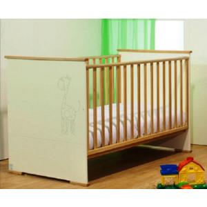 Κρεβάτι της Λίκνο Δάφνη με στρώμα grecostrom Deluxe antibacterial