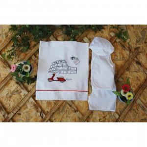Λαδοπανο βαπτισης για αγορια με θεμα βεσπα Α006 La Christine narlis.gr