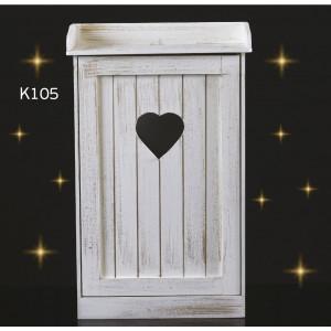 Ξύλινη ντουλαπα (κ-105) προμ.570