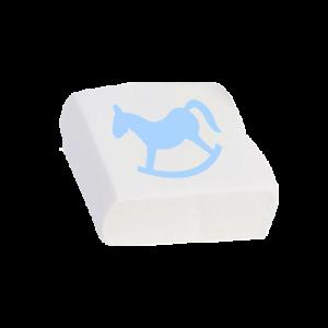 Μασμέλος με στάμπα γαλάζιο αλογάκι με γεύση βανίλια (Κωδικός προϊόντος: 060.38.50.024)