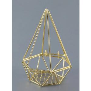 Μπομπονιέρες Γάμου Βάπτισης Μεταλλικό Γεωμετρικό Σχήμα ΝΚ346 Nuova Vita