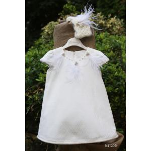 Ολοκληρωμένο πακέτο βάπτισης με αυτό το φόρεμα (Mi Chiamo Κ4120Φ-85)