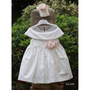 Ολοκληρωμένο πακέτο βάπτισης με αυτό το φόρεμα (Mi Chiamo Κ4122Φ-100)