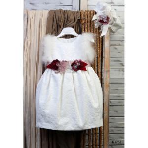 Ολοκληρωμένο πακέτο βάπτισης με αυτό το φόρεμα (Mi Chiamo Κ.3751-2-105)