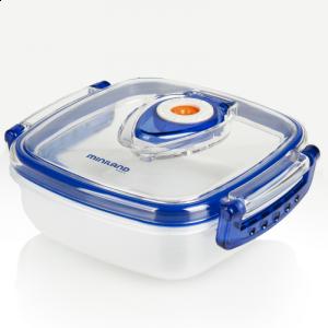 Miniland Δοχείο φαγητού με σύστημα αποσυμπίεσης Blue (702.01.007)