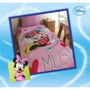 Κουβέρτα Minnie Music Disney (Κωδ.111.538.007)