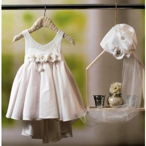 Ολοκληρωμένο πακέτο βάπτισηs με αυτό το φόρεμα Bambolino Mirka (#8781-165-325#) Με βαλίτσα rain η παγκάκι θρανίο Ζητήστε προσφορά !!