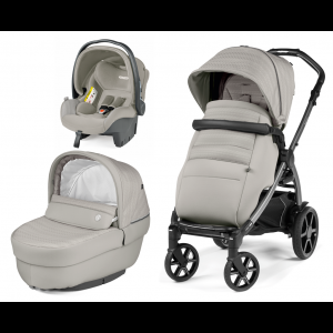 Peg Perego Βρεφικό Πολυκαρότσι 3 σε 1 Book Plus 51 Moon Stone SL, narlis.gr