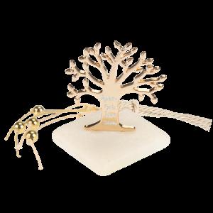 Μπομπονιέρα Γάμου Δέντρο της Ζωής με Ευχές σε Πέτρα 61202 Andronidis Ζητήστε προσφορά !!!!