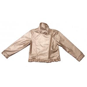 Μπουφάν Δερματίνη Παιδικό  Χρυσαφί Εβίτα 291.006.005