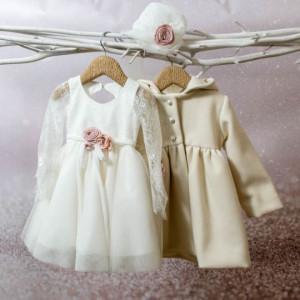 Ολοκληρωμένο σετ βάπτισης κορίτσι Bambolino Nadia 8582-200-350 Ζητήστε προσφορά !!