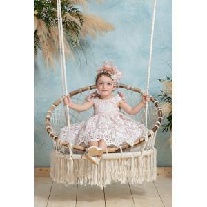 Ολοκληρωμένο πακέτο βάπτισηs με αυτό το φόρεμα neonato (#ΝΚ059-200-360#) Με βαλίτσα rain η παγκάκι θρανίο Ζητήστε προσφορά !!