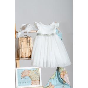Ολοκληρωμένο πακέτο βάπτισηs με αυτό το Φόρεμα (Neonato Κωδ.ΝΚ037-160-310) Mε το κουτί Ζητήστε προσφορά!!!!!