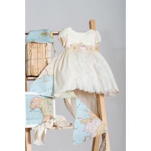 Ολοκληρωμένο πακέτο βάπτισηs με αυτό το Φόρεμα (Neonato Κωδ.ΝΚ038) Mε το κουτί Ζητήστε προσφορά!!!!!