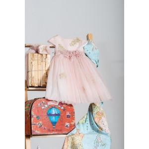 Ολοκληρωμένο πακέτο βάπτισηs με αυτό το Φόρεμα (Neonato Κωδ.ΝΚ042) Mε το κουτί Ζητήστε προσφορά!!!!!
