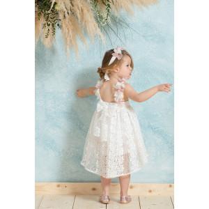 Ολοκληρωμένο πακέτο βάπτισηs με αυτό το φόρεμα neonato (#ΝΚ049-196-356#) Με βαλίτσα rain η παγκάκι θρανίο Ζητήστε προσφορά !!