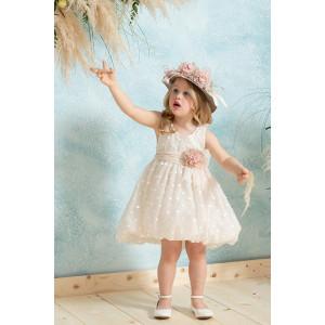Ολοκληρωμένο πακέτο βάπτισηs με αυτό το φόρεμα neonato (#ΝΚ074-197-357#) Με βαλίτσα rain η παγκάκι θρανίο Ζητήστε προσφορά !!