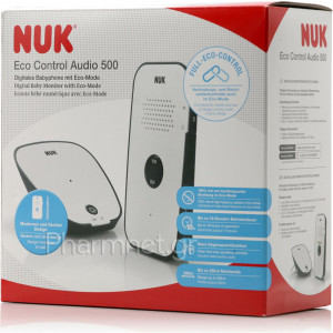 Ενδοεπικοινωνία NUK Eco Control Audio 500 Digital baby Monitor #184.210.000