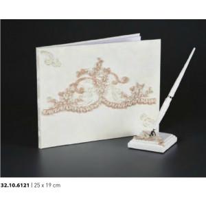 Βιβλίο ευχών γάμου 25Χ19cm Rodia 32.10.6121(25)