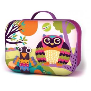Τσάντα Φαγητού Ισοθερμικό Oops Happy Snack Owl (457037)